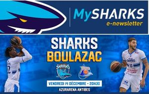 TARIF PREFERENTIEL MATCH SHARKS/BOULAZAC